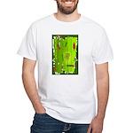 Absinthe Surfing White T-Shirt