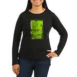 Absinthe Surfing Women's Long Sleeve Dark T-Shirt