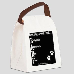 BARF - Paw Prints Canvas Lunch Bag