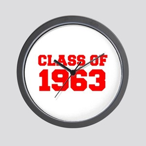 CLASS OF 1963-Fre red 300 Wall Clock