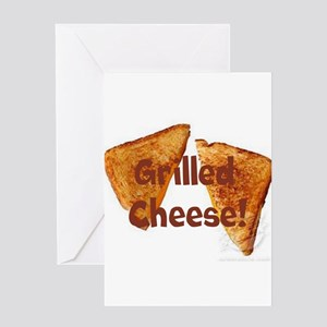 Grilled cheese Greeting Cards