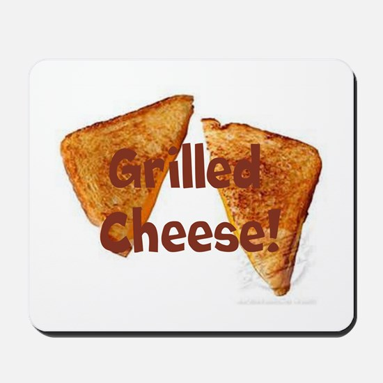 Grilled cheese Mousepad