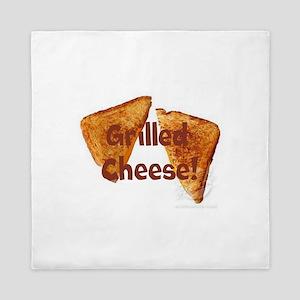 Grilled cheese Queen Duvet