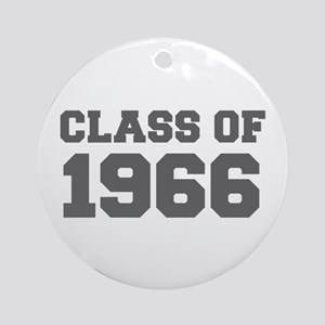 CLASS OF 1966-Fre gray 300 Ornament (Round)