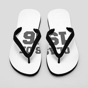 CLASS OF 1966-Fre gray 300 Flip Flops