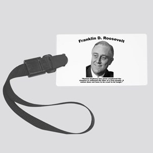 FDR: Kindness Large Luggage Tag