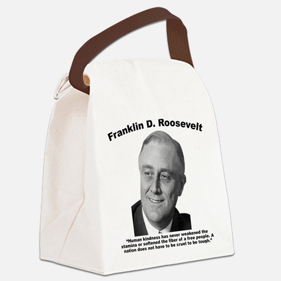 FDR: Kindness Canvas Lunch Bag