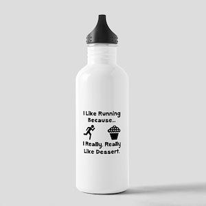 Running Dessert Stainless Water Bottle 1.0L