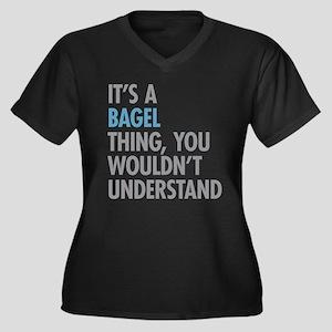 Bagel Thing Plus Size T-Shirt