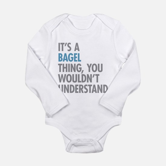 Bagel Thing Body Suit