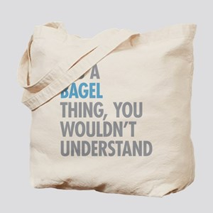 Bagel Thing Tote Bag