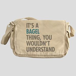 Bagel Thing Messenger Bag