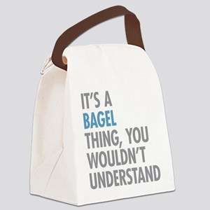 Bagel Thing Canvas Lunch Bag