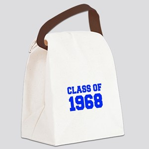CLASS OF 1968-Fre blue 300 Canvas Lunch Bag