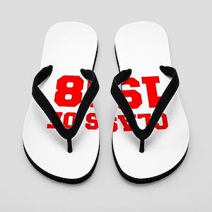 CLASS OF 1968-Fre red 300 Flip Flops