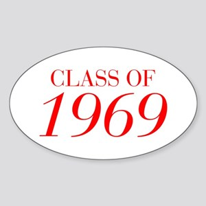 CLASS OF 1969-Bau red 501 Sticker