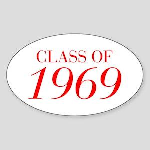CLASS OF 1969-Bau red 501 Sticker