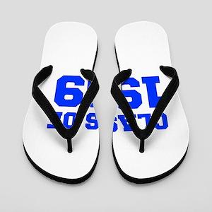 CLASS OF 1969-Fre blue 300 Flip Flops