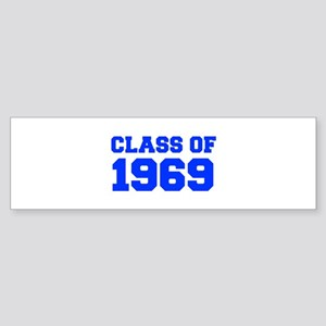 CLASS OF 1969-Fre blue 300 Bumper Sticker