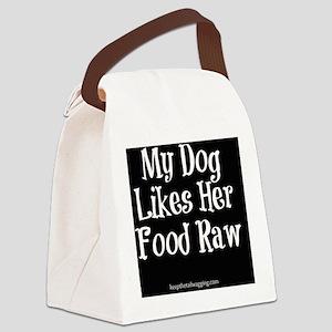 Raw Feeding - Her Canvas Lunch Bag