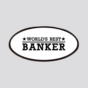 World's best banker Patch
