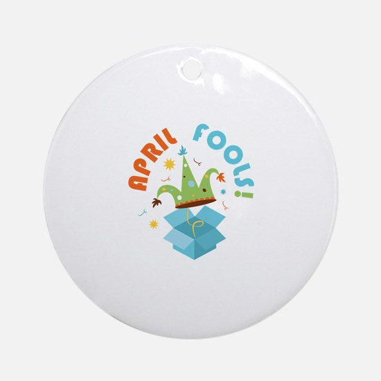 April Fools Ornament (Round)
