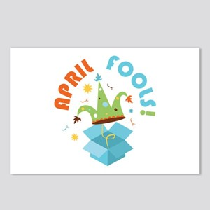 April Fools Postcards (Package of 8)