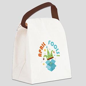 April Fools Canvas Lunch Bag