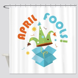 April Fools Shower Curtain