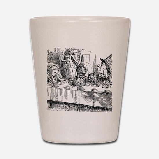 Alice in Wonderland Tea party Shot Glass