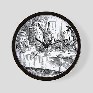 Alice in Wonderland Tea party Wall Clock