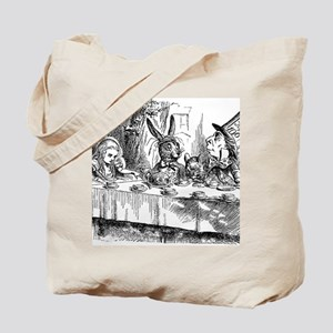 Alice in Wonderland Tea party Tote Bag