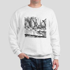 Alice in Wonderland Tea party Sweatshirt