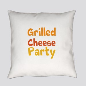 Grilled Cheese Party Everyday Pillow