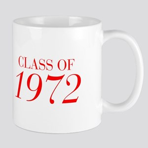 CLASS OF 1972-Bau red 501 Mugs
