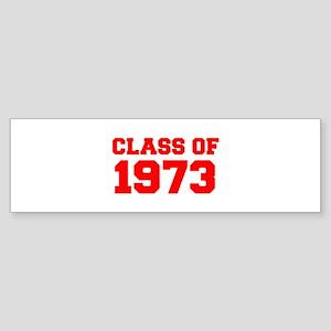 CLASS OF 1973-Fre red 300 Bumper Sticker