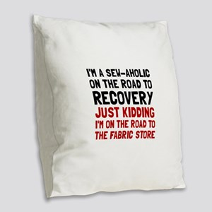 Sewaholic Burlap Throw Pillow