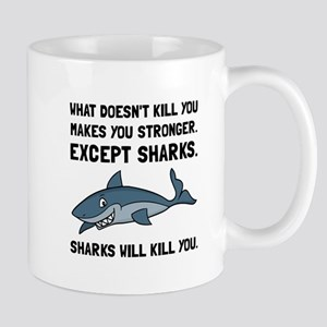 Sharks Will Kill You Mugs