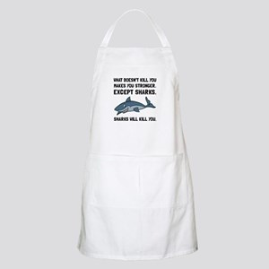 Sharks Will Kill You Apron