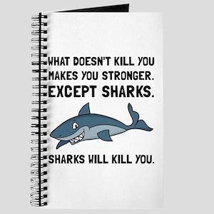 Sharks Will Kill You Journal