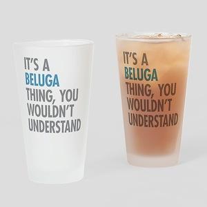 Beluga Thing Drinking Glass
