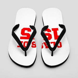 CLASS OF 1975-Fre red 300 Flip Flops