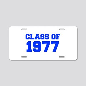 CLASS OF 1977-Fre blue 300 Aluminum License Plate
