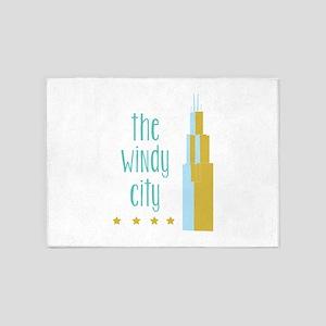 The Windy City 5'x7'Area Rug