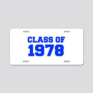 CLASS OF 1978-Fre blue 300 Aluminum License Plate