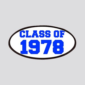CLASS OF 1978-Fre blue 300 Patch