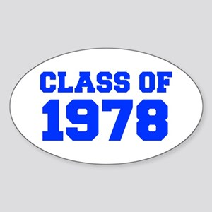 CLASS OF 1978-Fre blue 300 Sticker