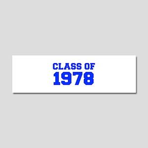 CLASS OF 1978-Fre blue 300 Car Magnet 10 x 3