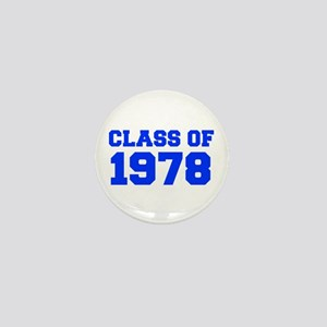 CLASS OF 1978-Fre blue 300 Mini Button