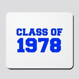 CLASS OF 1978-Fre blue 300 Mousepad